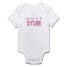 My name is Rylee Infant Bodysuit