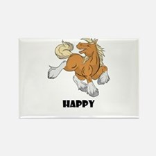 Happy Horse Rectangle Magnet