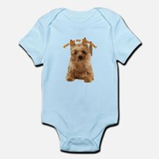 aussie terrier Infant Bodysuit