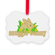 Snuggle Bunny Ornament