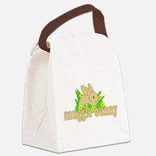 Snuggle Bunny Canvas Lunch Bag