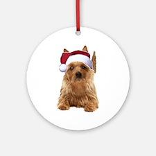 aussie terrier Ornament (Round)