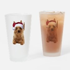 aussie terrier Drinking Glass