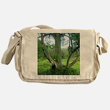 Rainbow Tree Maui Messenger Bag