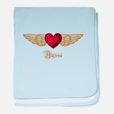Alyssa the Angel baby blanket