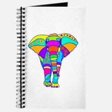 Elephant Colored Designed Journal
