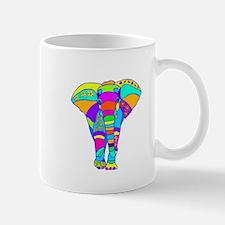 Elephant Colored Designed Mug