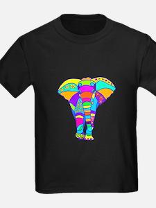 Elephant Colored Designed T