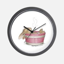 HappyHoppers® - Bunny - Wall Clock