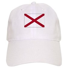 Alabama Flag Picture Baseball Cap