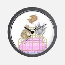 HappyHoppers® - Bunny - Wall Clock