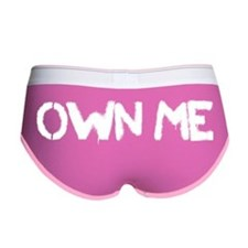 Own Me (White) Women's Boy Brief