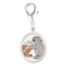 Carrot Juice - Silver Oval Charm