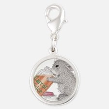 Carrot Juice - Silver Round Charm