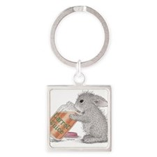 Carrot Juice - Square Keychain