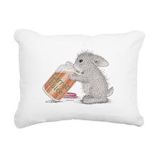 Carrot Juice - Rectangular Canvas Pillow