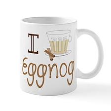 I Love Eggnog Mug