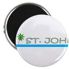 Funny St john virgin islands Magnet