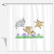 Hoppy Fliers Shower Curtain