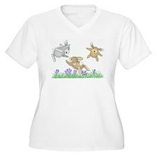 Hoppy Fliers Plus Size T-Shirt