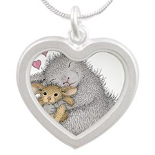 Love Bunny - Silver Heart Necklace