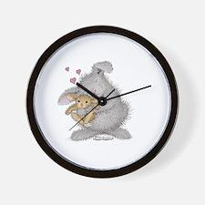 Love Bunny - Wall Clock