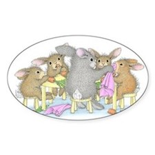 Rabbits of the Round Table Decal