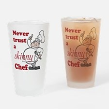 Skinny Chef Drinking Glass