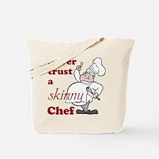Skinny Chef Tote Bag
