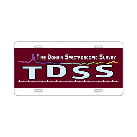 TDSS Logo Aluminum License Plate
