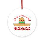 Felice Navadad Ornament (Round)