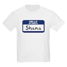 Hello: Shana Kids T-Shirt