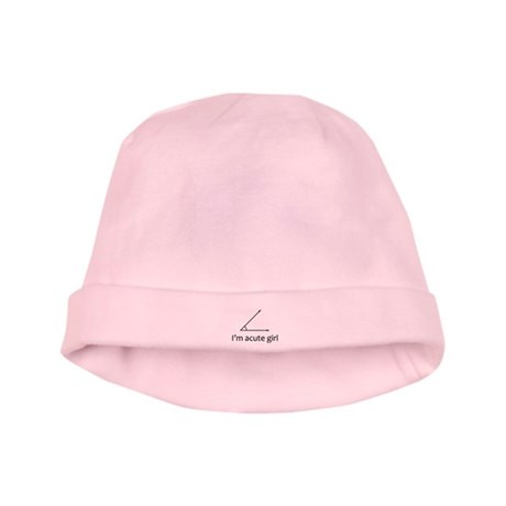 Im acute girl baby hat