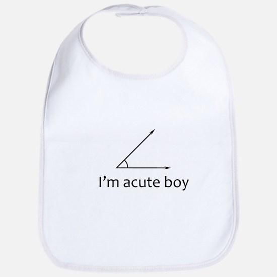 Im acute boy Bib