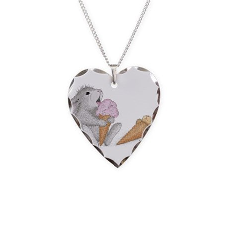 You Snooze You Loose - Necklace Heart Charm