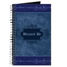 Blessed Be Vintage (Blue) Journal