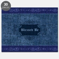 Blessed Be Vintage (Blue) Puzzle
