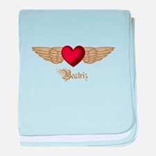 Beatriz the Angel baby blanket