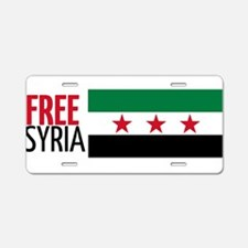 Cute Syria car Aluminum License Plate