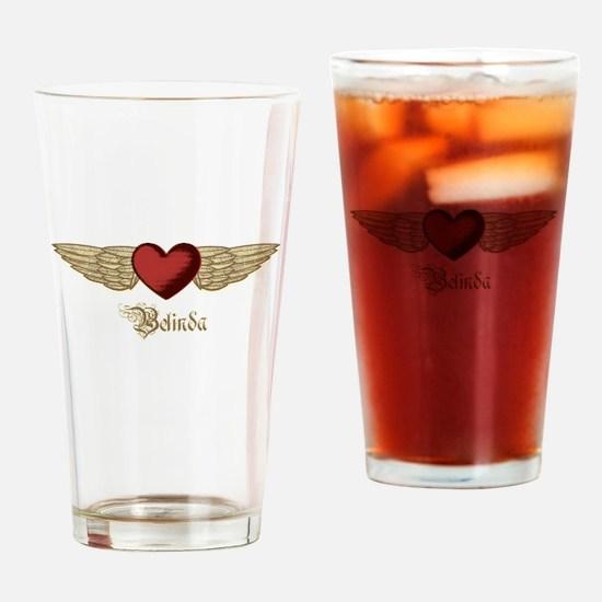 Belinda the Angel Drinking Glass