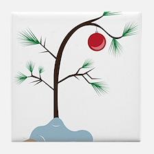 Small Tree Tile Coaster