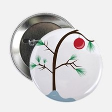 "Small Tree 2.25"" Button"
