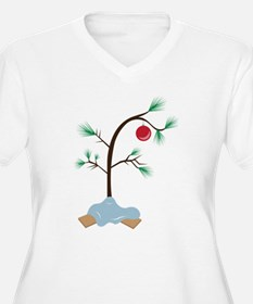 Small Tree Plus Size T-Shirt