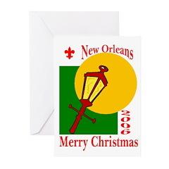 NOLa Christmas 2006 Cards (Pk of 10)
