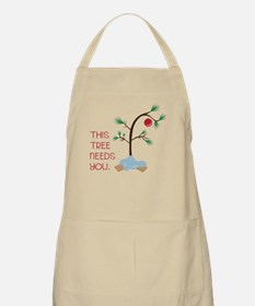 This Tree Needs You Apron