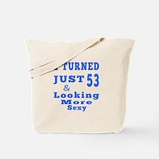 53 birthday designs Tote Bag