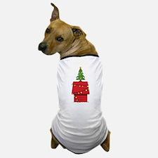 Holiday Dog House Dog T-Shirt