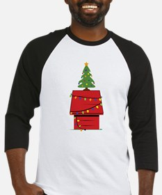 Holiday Dog House Baseball Jersey