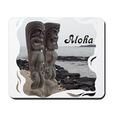 Place of Refuge Tikis Aloha Mousepad