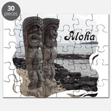 Place of Refuge Tikis Aloha Puzzle